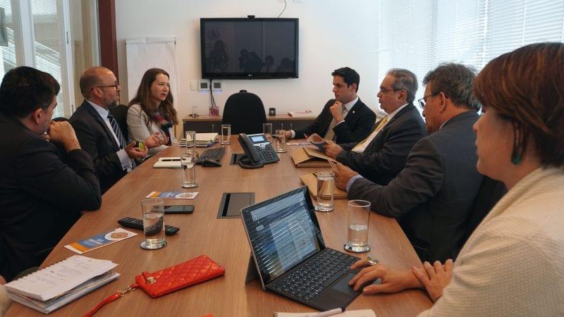 Rafael Motta e Álvaro Dias debatem projetos da ONU para Natal