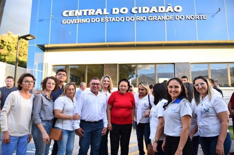 Governo do RN entrega Central do Cidadão em Apodi em sede própria e reestruturada