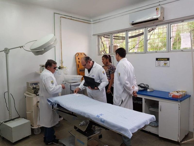 Conselho de Medicina faz fiscalizações em  hospitais e UPAs de Mossoró