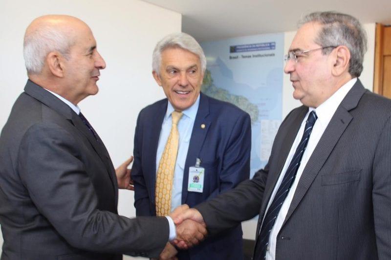 João Maia e General Ramos tratam sobre liberação de recursos federais para obras em Natal e Seridó