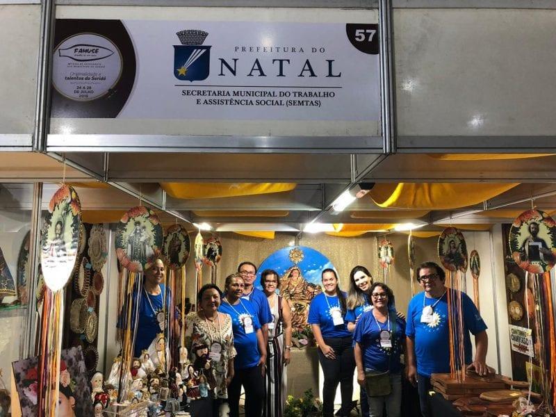 Prefeitura apoia participação de artesãos de Natal em feira durante Festa de Sant´Ana em Caicó
