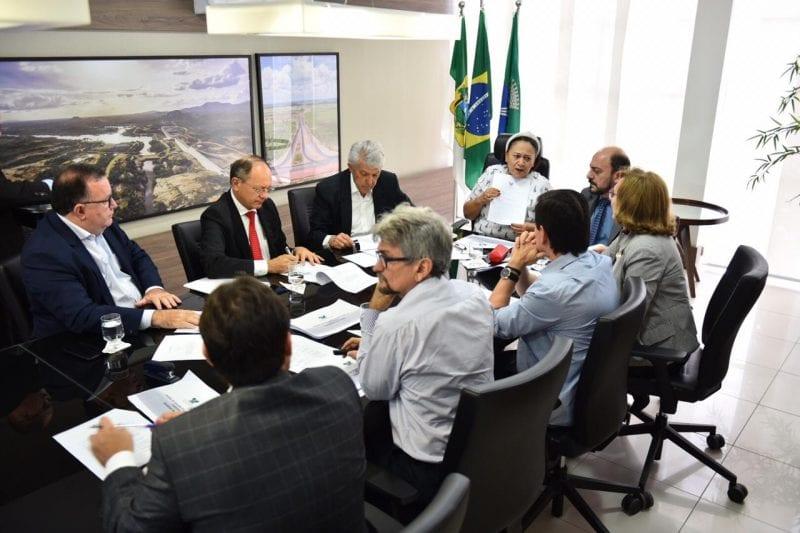 Governadora Fátima reúne bancada federal para tratar da liberação de recursos federais para a saúde