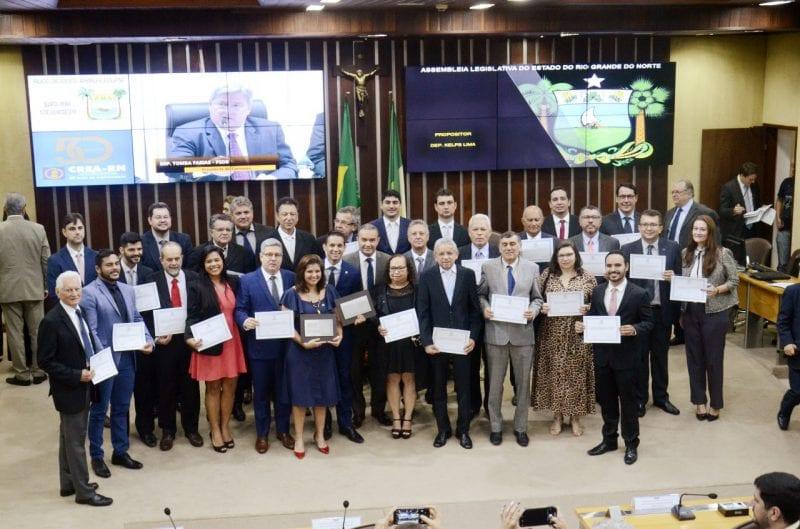 Assembleia Legislativa Homenageia o CREA pelos seus 50 anos