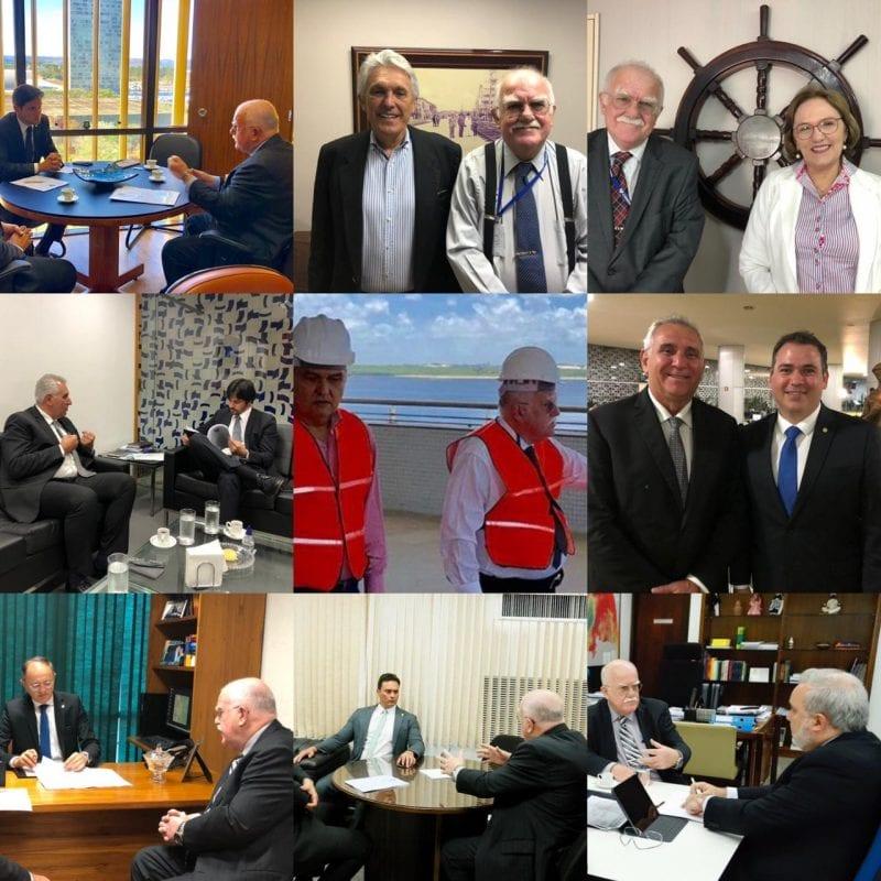 Diretor-Presidente da CODERN solicita apoio à bancada federal para melhorias no Porto de Natal e no Terminal Salineiro de Areia Branca