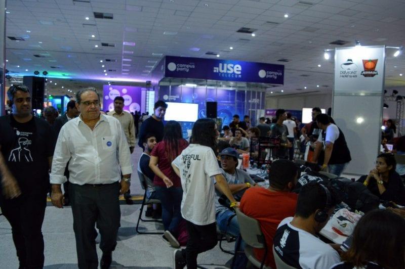 Prefeito ressalta investimentos em tecnologia na abertura da Campus Party