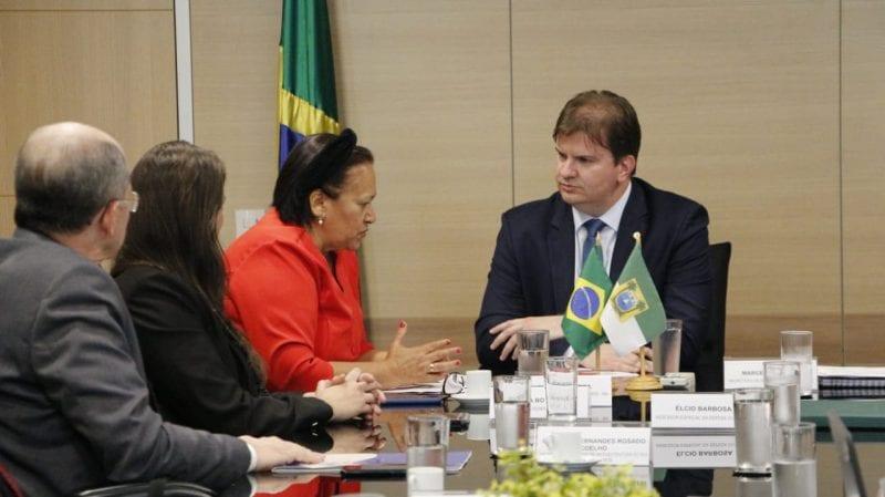 Governadora solicita liberação de recursos federais para infraestrutura hídrica e urbana