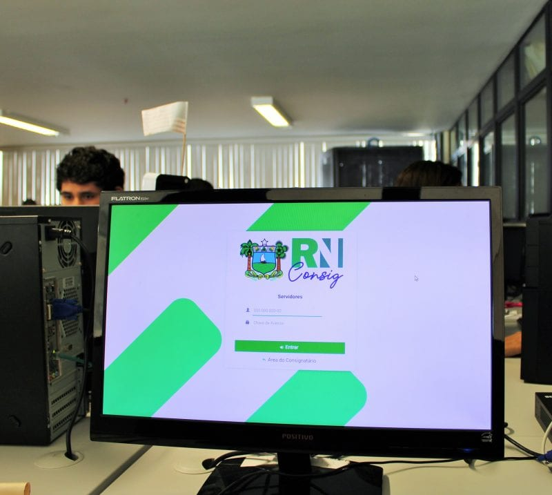 O portal de consignados do Governo do RN está no ar