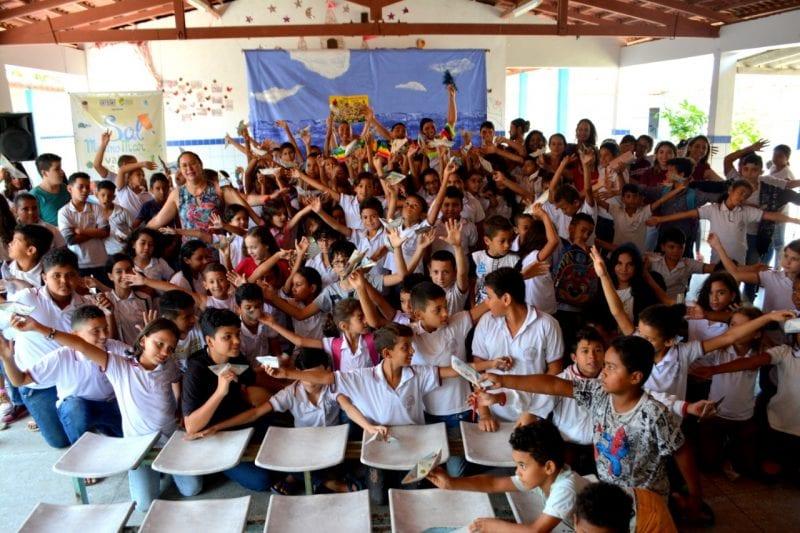 Projeto leva teatro e educação ambiental a escolas públicas