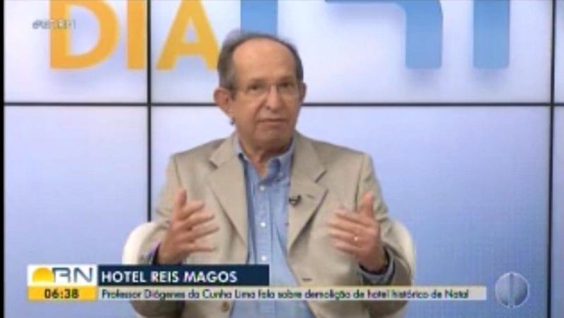 Relator do Conselho Estadual de Cultura critica tombamento do antigo Hotel Reis Magos