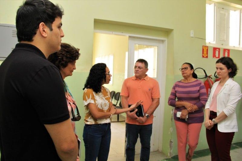 Comissão dos Direitos Humanos vistoria serviços do Hospital João Machado