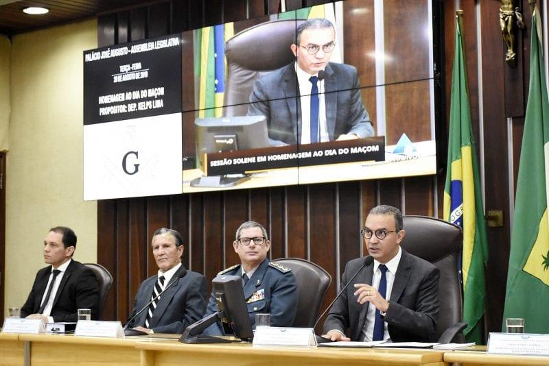 Assembleia Legislativa realiza sessão solene em homenagem ao Dia do Maçom