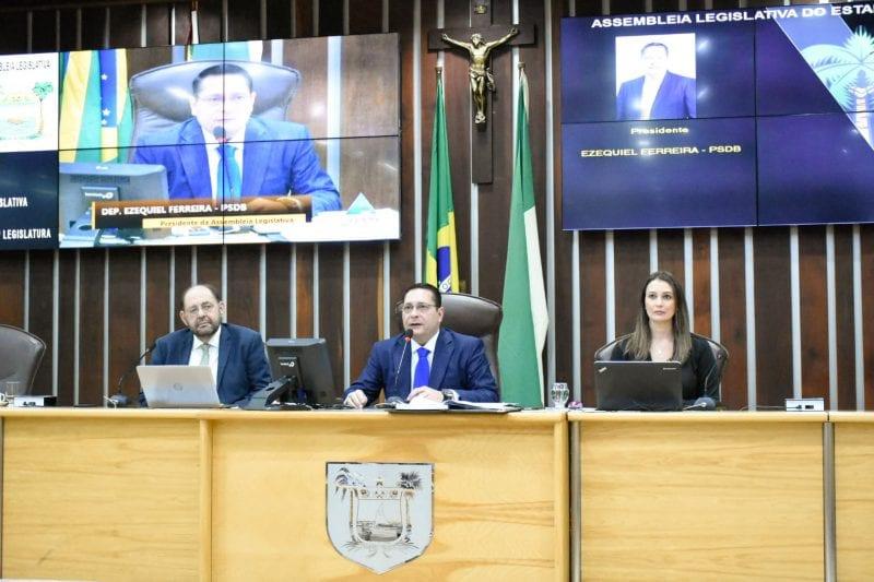 Sistema eLegis marca retorno do recesso na Assembleia Legislativa