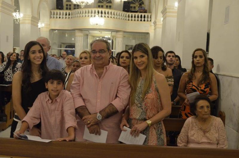 Aniversário do prefeito Álvaro Dias é celebrado com missa