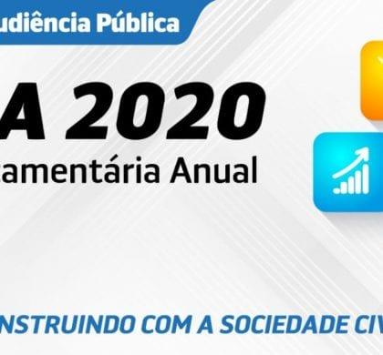 Prefeitura realiza audiência pública para discutir Lei Orçamentária Anual 2020