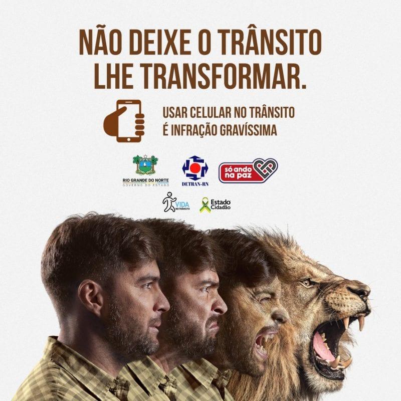 Campanha educativa de trânsito impacta 94,1% da população do RN