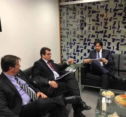 Deputado Fábio Faria garante emenda de R$ 300 mil para PRF RN