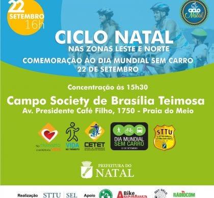 """Prefeitura promove """"Dia Mundial Sem Carro"""" e """"Na Cidade sem meu Carro"""""""