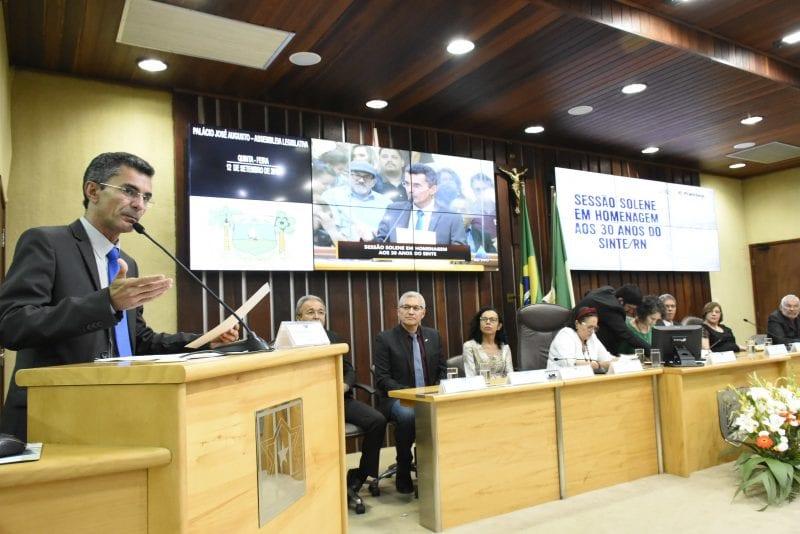Assembleia Legislativa homenageia Sinte/RN pelos 30 anos de fundação