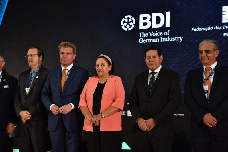 Em encontro econômico, Governadora defende aproximação entre RN e Alemanha