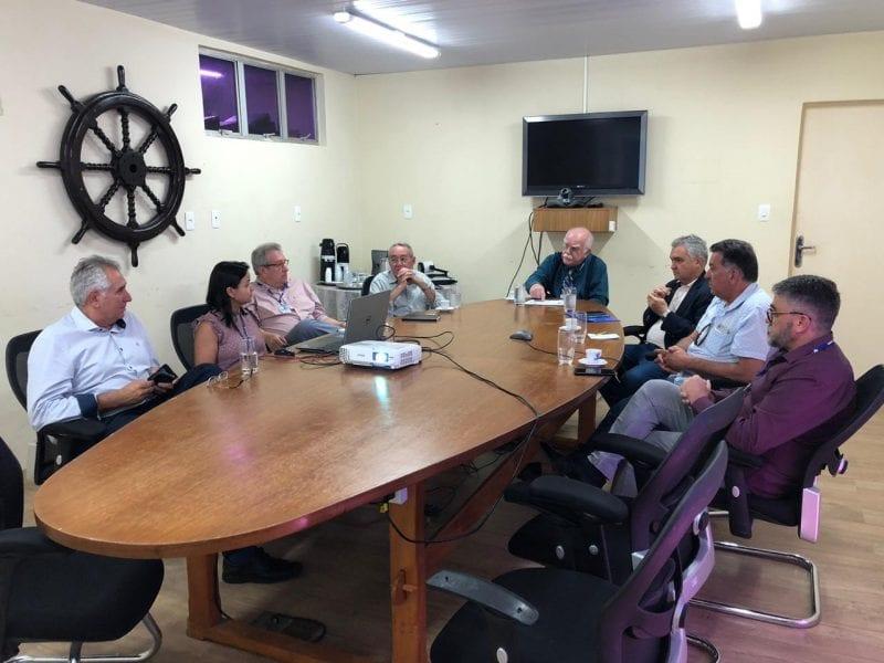 CODERN recebe a visita do Deputado Federal General Girão para tratar sobre Portos do RN