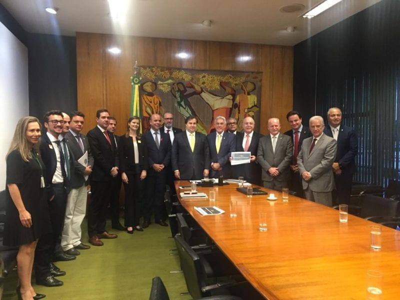 Presidente da Câmara e João Maia recebem propostas do Governo Federal para Comissão Especial de PPPs
