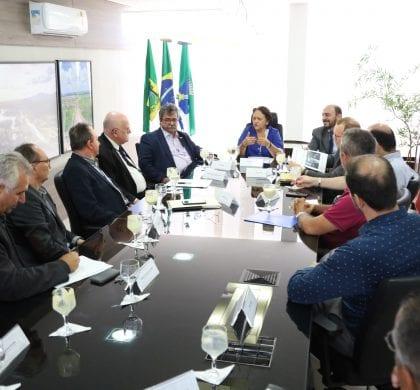 Governo e Codern se unem em busca de recursos da União para recuperação dos portos