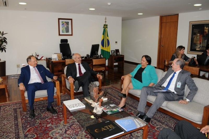 Em Brasília, Fátima busca recursos para a conclusão de obras de Infraestrutura do RN
