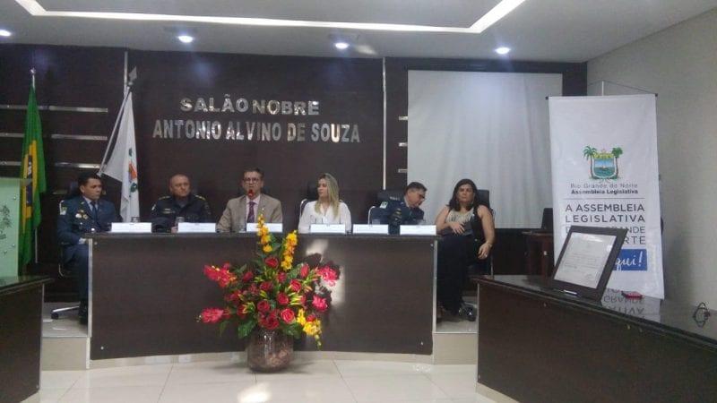 Assembleia realiza sessão solene em homenagem ao 7º BPM em Pau dos Ferros