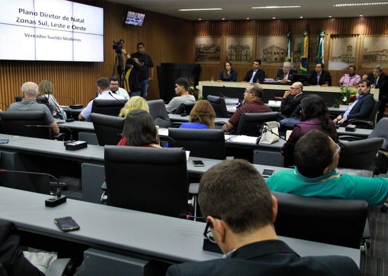 Câmara debate revisão do Plano Diretor de Natal em Zonas de Proteção Ambiental