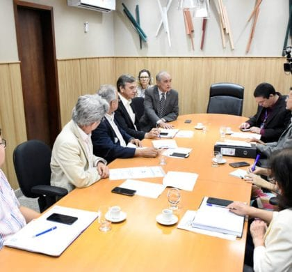 Relatores do PPA e LOA na Assembleia recebem representantes do Conselho de Saúde
