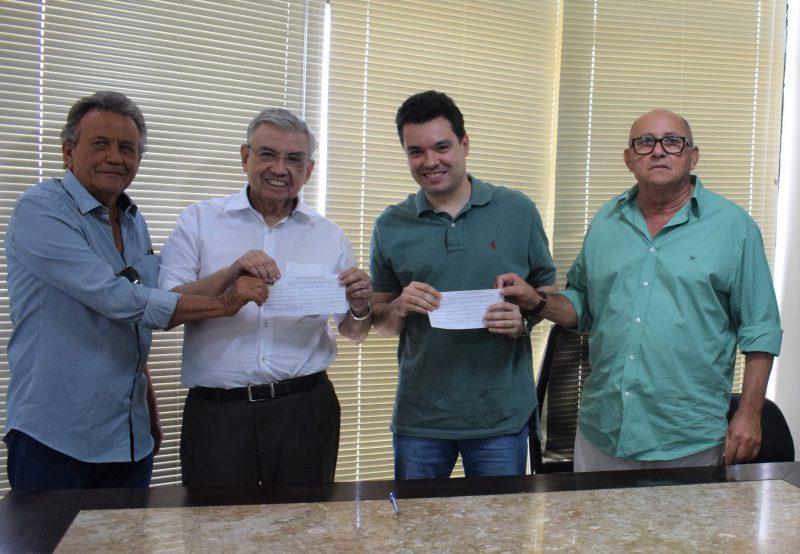 Prefeito e vice de São José de Mipibu se filiam ao MDB-RN