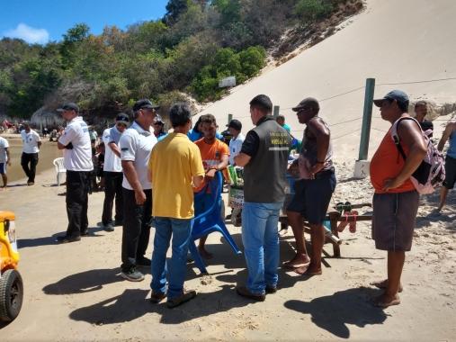 Informe: Prefeitura retoma fiscalização nas praias