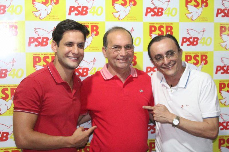 PSB-RN ganha novos prefeitos e pré-candidatos em atos com as participações de Rafael Motta e Souza