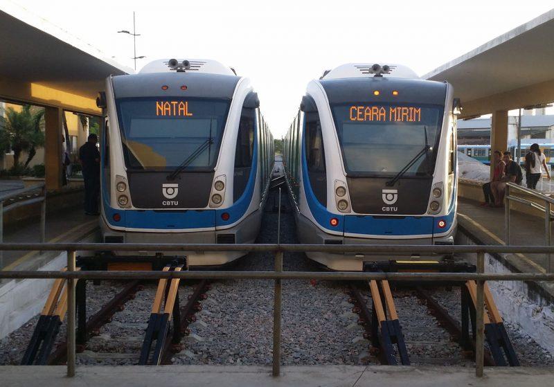 Funcionamento dos trens urbanos de Natal hoje e amanhã