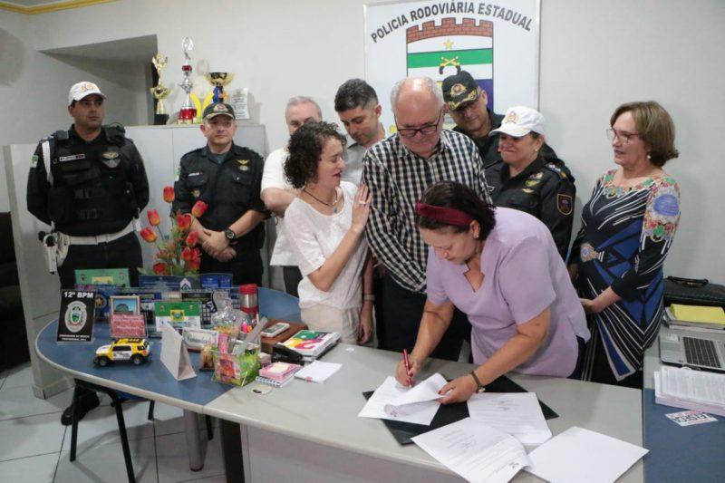 Governo constrói novo posto policial na RN 117