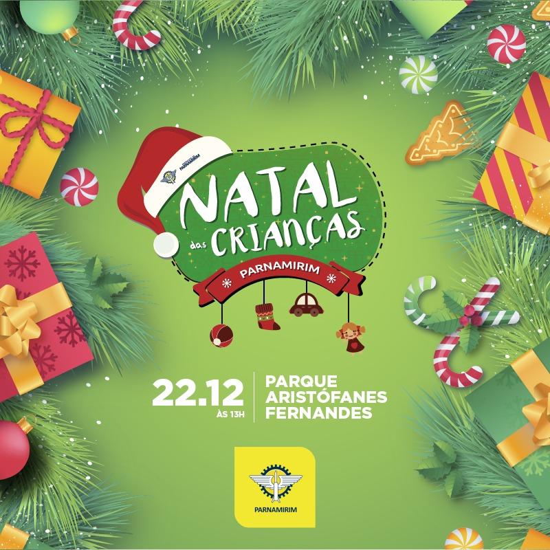 Natal das Crianças será no próximo domingo (22) em Parnamirim