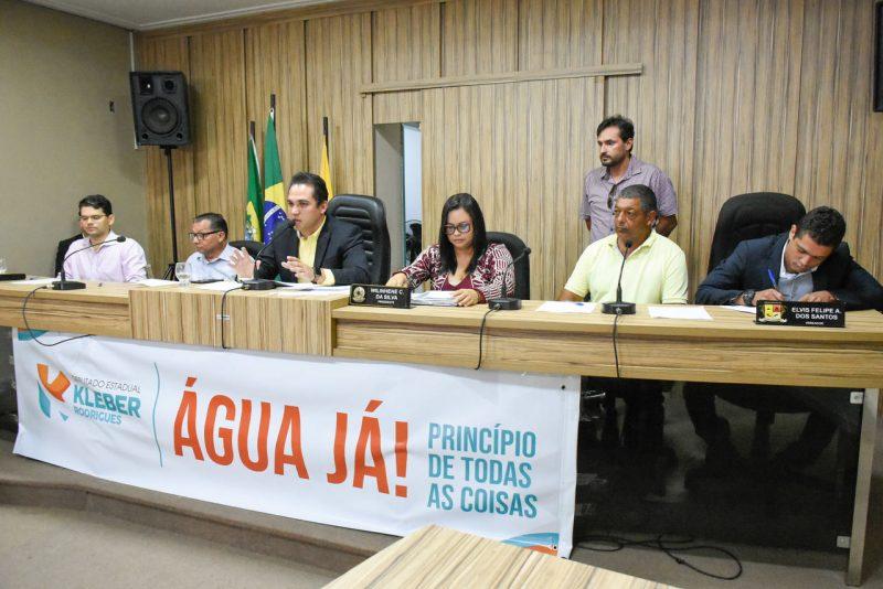Em audiência pública, Caern afirma que vai ampliar rede de água em Canguaretama