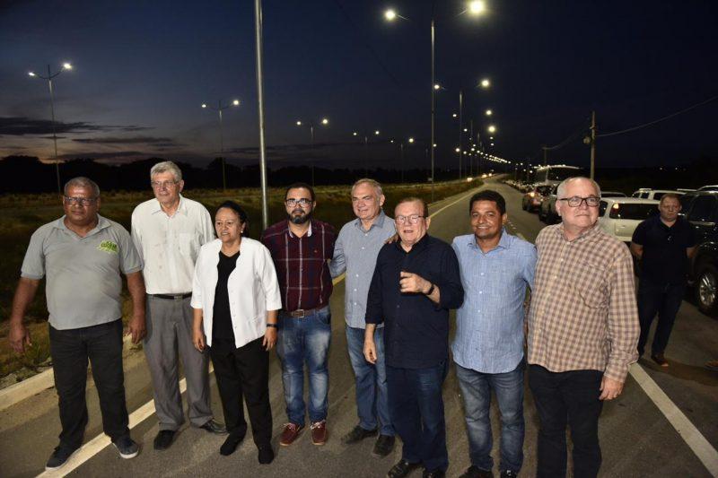 Governadora entrega iluminação do acesso sul ao Aeroporto Internacional de Natal