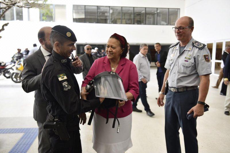 Governo inicia curso para formação de novos policiais militares
