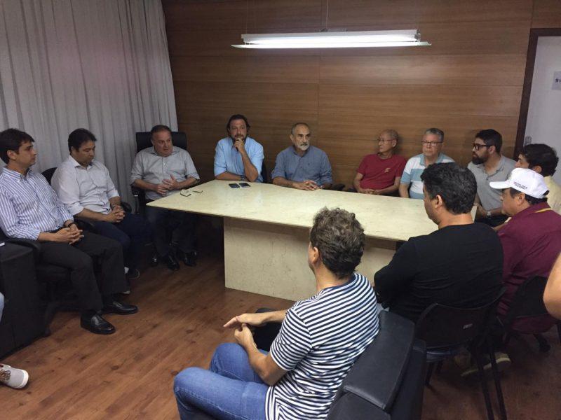 Situação de Ponta Negra é tema de reunião com Sindicato dos Hotéis, presidente da Câmara e trade turístico