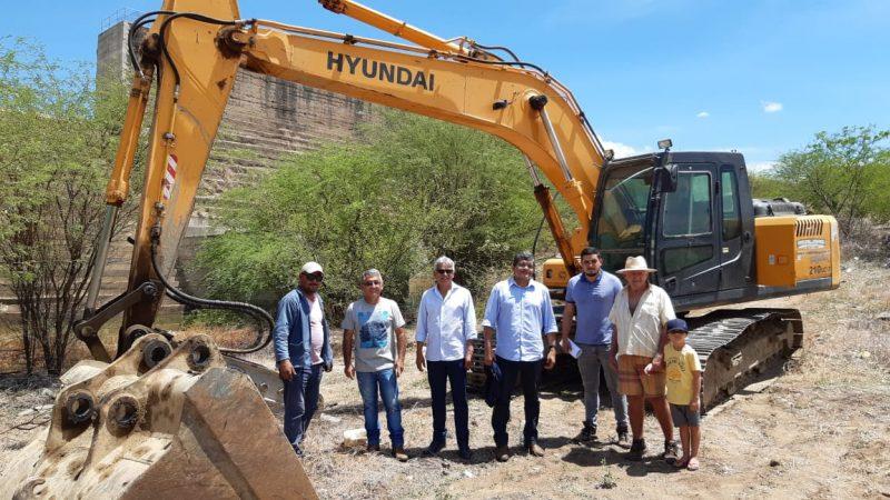 Semarh acompanha primeira ação para recuperação de Passagem das Traíras