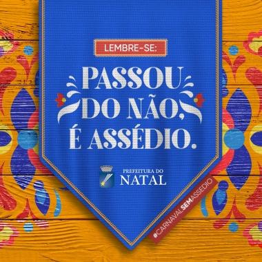 Prefeitura promove campanha #CarnavalSemAssédio durante a folia