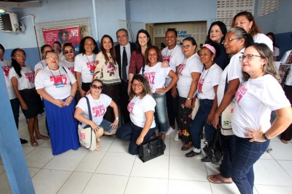 Prefeito Álvaro Dias inaugura nova sede dos projetos Mulheres da Paz e Protejo