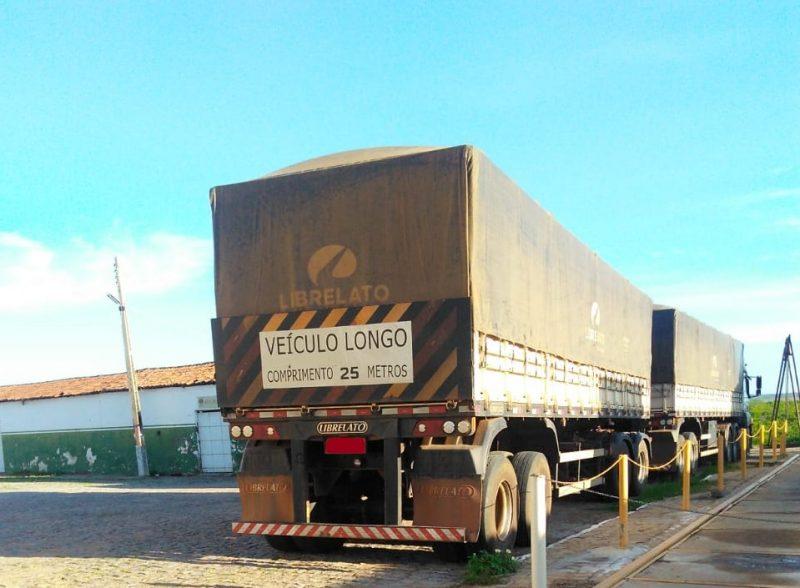 SET-RN apreende carregamento de 36 toneladas de milho em Itaú