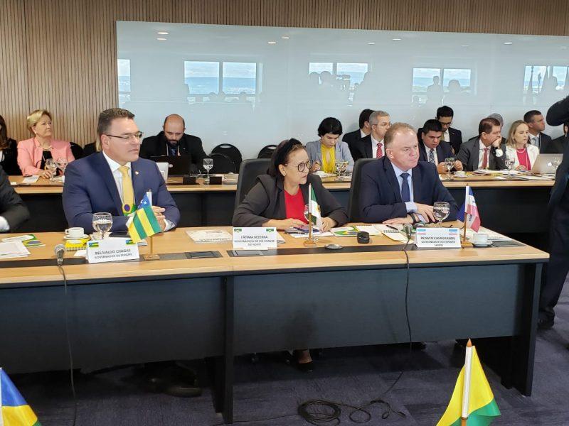 Governadores acatam proposta de Fátima e pedem urgência a deputados e senadores para aprovação do novo Fundeb