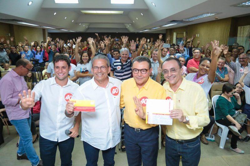 Deputados Hermano Morais e Souza Neto se filiam ao PSB