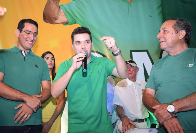 Em João Câmara, Garibaldi e Walter Alves participam de convenção do MDB