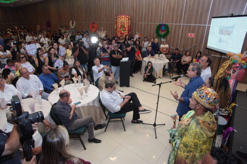 Prefeito Álvaro Dias lança programação do Carnaval 2020