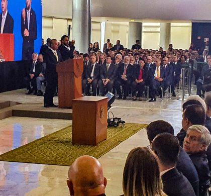 Concorrida posse de Rogério Marinho, potiguares na solenidade: Fátima Berra, Jean Paul e Fábio Faria