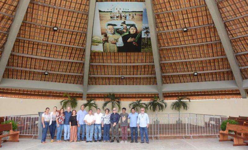 Secretários de Estado e município se reúnem em São Gonçalo para discutir turismo religioso no Santuário dos Mártires